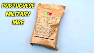 Download Testing Portuguese MRE Meal Ready to Eat Video
