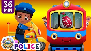 Download ChuChu TV Police Chase Thief in Police Car to Save Huge Surprise Egg Toys Gifts – The Train Escape Video