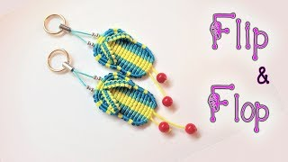 Download Macrame tutorial: The Flip & Flop key chain - Cute handmade gift for couple Video