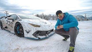 Download 5 Tips To SURVIVE WINTER IN A SUPERCAR *Lamborghini Huracan* Video