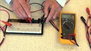 Download How to measure Voltage, Resistance and Current with a Digital Multi-Meter Video