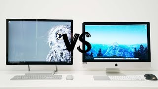 Download Surface Studio vs 5K iMac - BATTLE OF THE ALL IN ONES Video