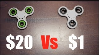 Download $20 vs $1 Fidget Spinner Video