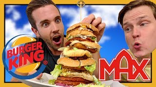 Download Hur smakar MAX & BURGER KING'S Hamburgare tillsammans? Video