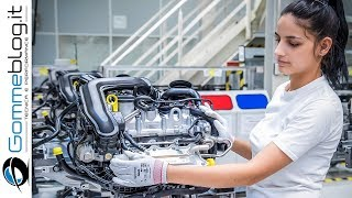 Download Audi ENGINE - Car Factory Production Assembly Line Video