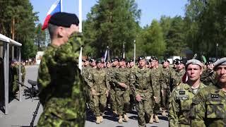 Download New unit arrives at eFP Battlegroup Latvia Video