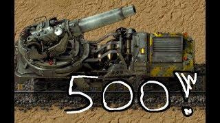 Download Where do you park your 500 wagon artillery train? [Factorio] Video