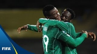 Download Flying Eagles soar past Green Falcons Video