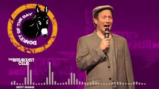 Download Rob Schneider Tweets to Civil Rights Leader John Lewis about MLK - Donkey of the Day (01-17-17) Video