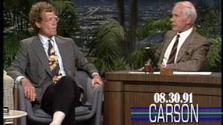 Download David Letterman Reveals His True Feelings about Jay Leno Hosting Tonight Show, Johnny Carson 1991 Video