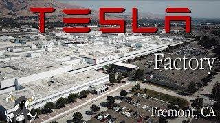 Download Tesla Factory - Fremont California tour Video