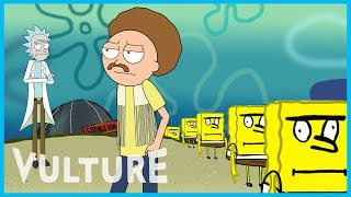 Download Rick and Morty x Vulture: A Trip to 'Spongebob Universe Show' Video