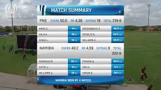Download LIVE CRICKET - PNG vs Namibia ICC World Cricket League League 2 Video