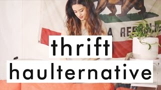 Download Fashion Revolution Week: Second Hand Haulternative | Try on Thrift Haul Video