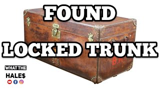 Download FOUND a LOCKED TRUNK / Real Life Storage Wars Unit Auction Locker / Opening Mystery Boxes 1-19-19 Video