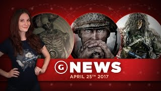 Download Resident Evil 7 DLC Delayed & Call of Duty: WWII Pro Edition Info! - GS Daily News Video