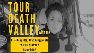 Download RV TOUR of DEATH VALLEY: 4 FREE CAMPSITES, 3 PARK CAMPGROUNDS, 2 NATURAL WONDERS & 1 GREAT DRIVE! Video