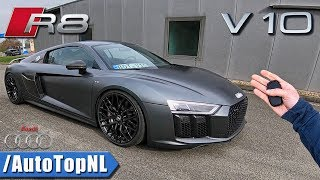 Download Audi R8 V10 PLUS POV 320km/h REVIEW on AUTOBAHN by AutoTopNL Video