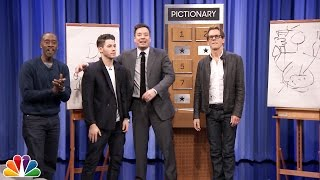Download Pictionary with Kevin Bacon, Don Cheadle and Nick Jonas Video