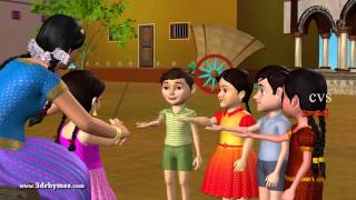 Download Veeri Veeri Gummadi Pandu - 3D Animation Telugu Rhymes for children Video