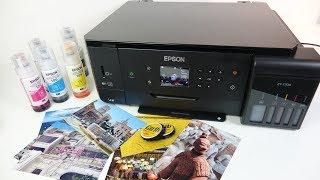 Download Epson ET 7700 Ecotank REVIEW - Print photos for pennies. Video