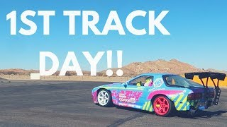 Download 1ST TRACK DAY IN THE RX-7!!!   Project Drift - EP. 33 Video