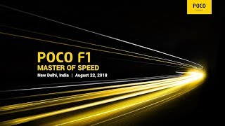 Download POCO F1 Global launch Video