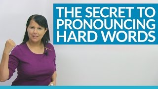 Download Speak English Naturally: My pronunciation secret for difficult words Video