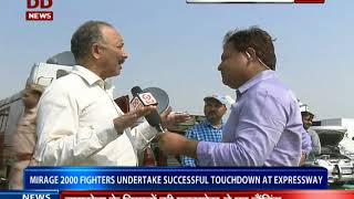 Download Sukhoi-30MKI Fighter Jets Perform Touch Down on Lucknow-Agra Expressway Video
