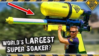 Download We Made Mark Rober's WORLD's LARGEST Super Soaker! 😂 Video