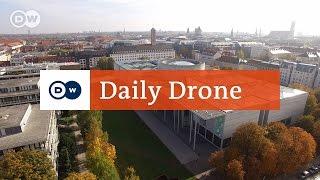 Download #DailyDrone: Pinakothek der Moderne, Munich | Daily Drone Video