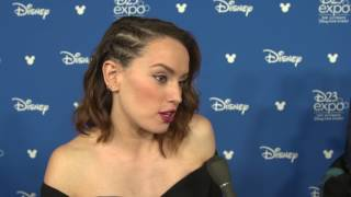 Download D23 Expo 2017 | Daisy Ridley | Star Wars: The Last Jedi Video