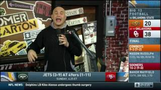 Download Boomer and Carton First 20 Minutes 12/06/2016 JETS ARE DEAD Video