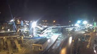Download Timelapse sloop oude station Driebergen Zeist Video