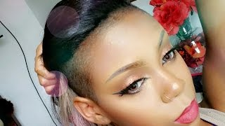 Download HOW TO: SLAY YOUR WEAVE WITH A SHAVED HEAD Video