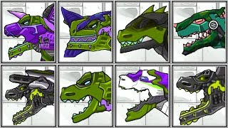Download Dino Robot T-REX Corps - Green Style - Full Game Play - 1080 HD Video
