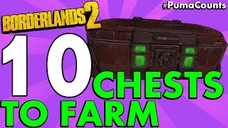 Download Top 10 Best Loot Chest Farming Locations in Borderlands 2 #PumaCounts Video
