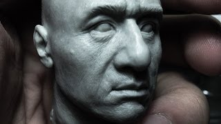 Download Sculpting Jackie Chan Head 1:6 Scale Hot Toys quality : Part 1 of 2 Video
