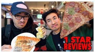 Download Eating At The WORST Reviewed Pizza Restaurant In My City (Los Angeles) Video