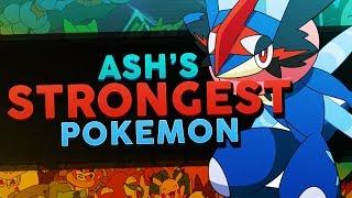 Download Ash Ketchum's Best / Strongest Pokemon In Each Region! - Woopsire Video