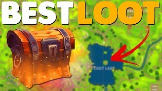 Download 5 BEST PLACES TO FIND LEGENDARY LOOT In Fortnite Battle Royale Video
