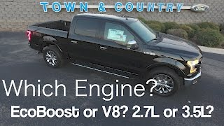Download 2017 Ford F150 - Which Engine to Choose? EcoBoost or V8? 3.5L or 2.7L? Video