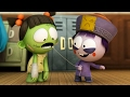 Download Funny Animated Cartoon | Spookiz Season 1 - Wiggle Wiggle | 스푸키즈 | Cartoon for Kids Video