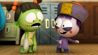 Download Funny Animated Cartoon | Spookiz Season 1 - Wiggle Wiggle | 스푸키즈 | Cartoon for Kids Video
