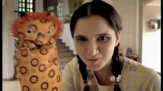 Download Sania Mirza in funny Indian commercial Video