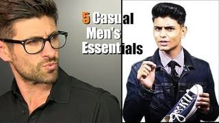 Download 5 CASUAL Men's Style Items EVERY MAN NEEDS ft. Aaron Marino of Alpha M | Mayank Bhattacharya Video