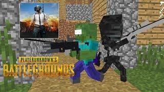 Download Monster School: Player Unknown Battlegrounds (PUBG) Challenge- Minecraft Animation Video