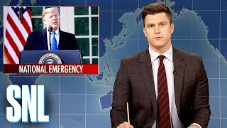 Download Weekend Update: President Trump Declares a National Emergency - SNL Video