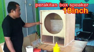Download buat box speaker sub 18 inch Video