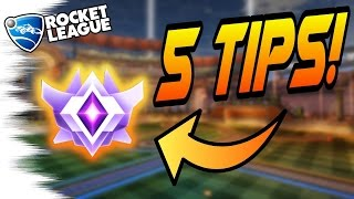 Download 5 EASY Rocket League TIPS/TRICKS TO GET BETTER! - Camera Settings, Aerials, Cars, Air Dribbles Video